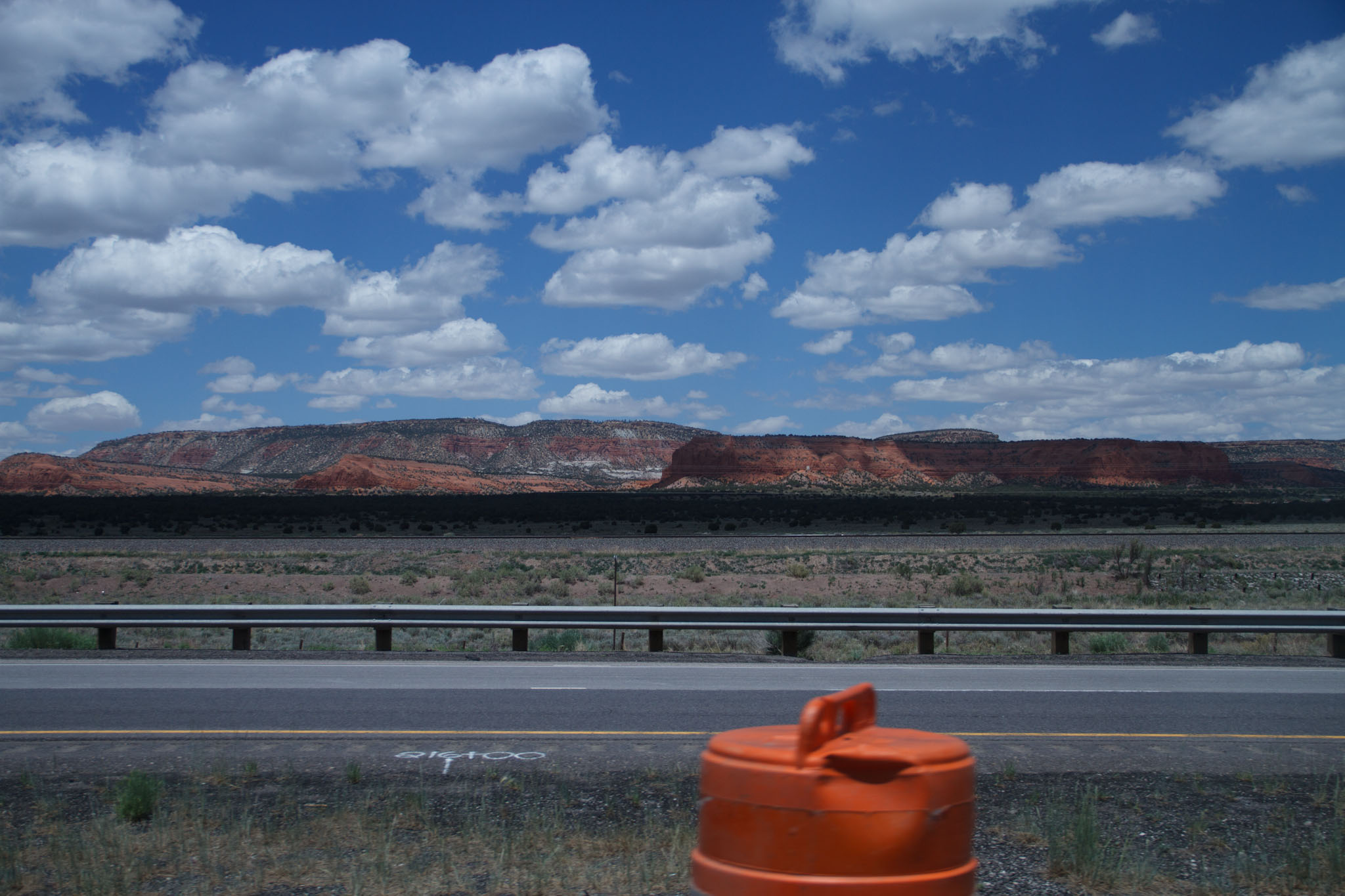 New Mexico roadscape